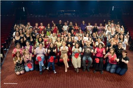 Privilégium pre The RedHeads ( Stretnutie so Celine a účasť na zvukovej skúške pred predstavením ! ♥♥♥)